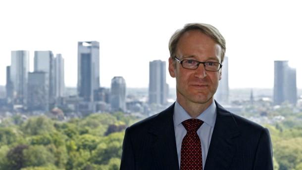 Weidmann gibt seinen Einstand am Finanzplatz
