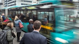 Busse fahren trotz Streiks