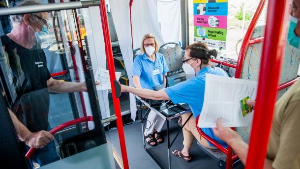 Hessen hinkt trotz Sonderaktionen beim Impfen weiter hinterher