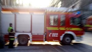 Frau stirbt in den Flammen