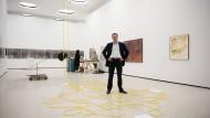 Das Werk ist vollbracht: Max Hollein in den 2012 fertiggestellten Städel-Gartenhallen mit zeitgenössischer Kunst