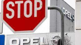 """Gewerkschaft befürchtet """"Ende der Marke Opel"""""""