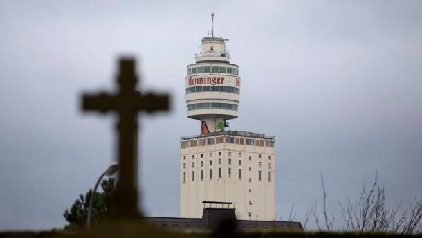 Henninger-Turm wird abgerissen