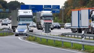 Scheidender Verkehrsminister hebt Tempolimits auf