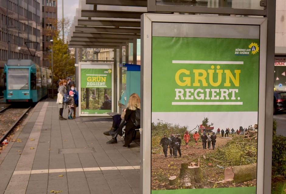 Szenen aus dem Forst: Die Grünen ragieren gelassen auf die Polemik.