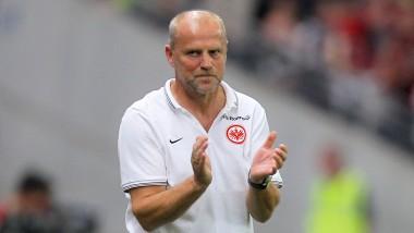 Trainer Thomas Schaaf: Beim Picknick hat der Trainer sein Team auf die neue Saison eingeschworen. (Archivbild)