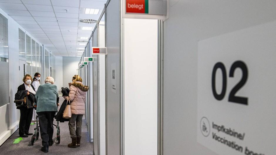 Hier geht noch was: Impfzentrum in Bad Homburg
