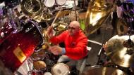 Immer druff auf die Felle: Schlagzeuger auf der Musikmesse in Frankfurt