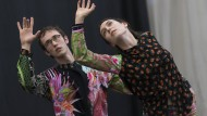 """Duett im Spiegel der Natur: Daphne Fernberger probt mit Ulysse Zangs ihr Duett """"Whole"""""""