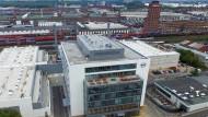 Aufbau: Opel hat 2015 und 2015 rund 210 Millionen Euro in sein neues Motorentestzentrum in Rüsselsheim gesteckt