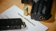 Kleiner Waffenschein stark gefragt