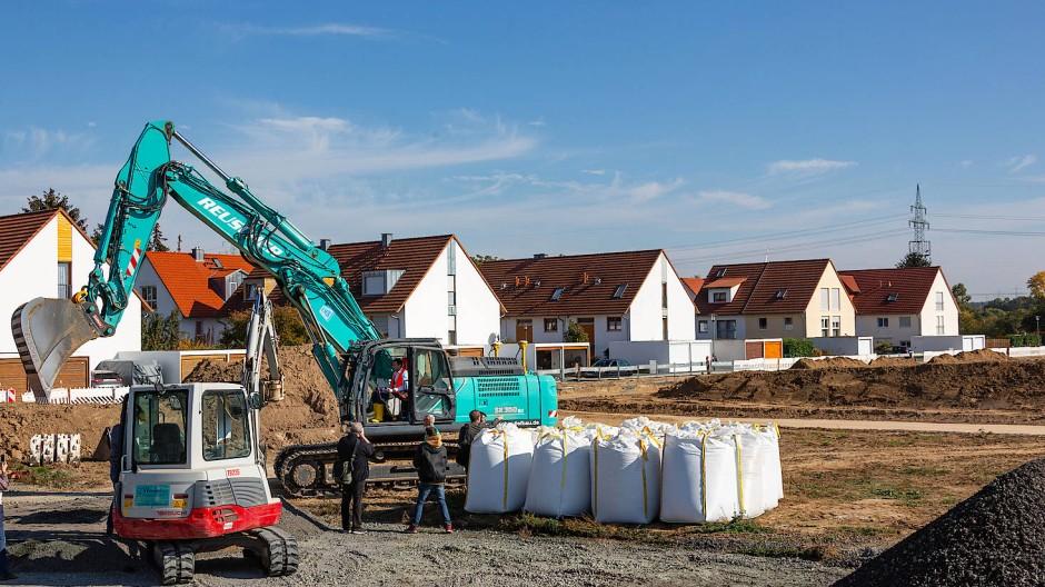 Bauen in Rhein-Main: Wie in Bad Homburg soll es bald vielerorts zugehen.