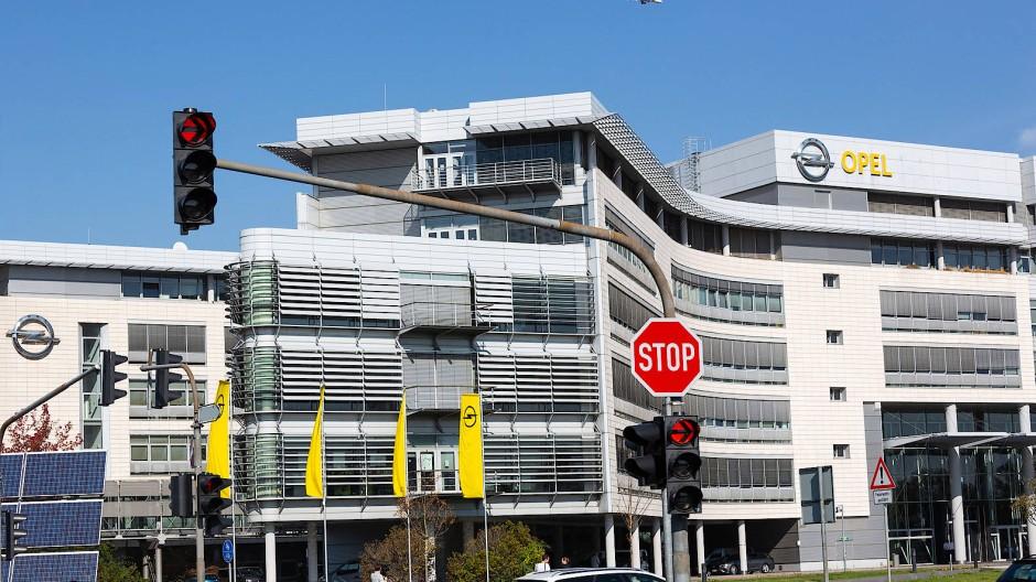 Soll zur Disposition stehen: Adam-Opel-Haus in Rüsselsheim