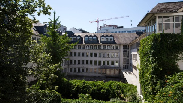 Romantikmuseum - Neben dem Frankfurter Goethehaus ist auf dem ehemaligen Börsenvereinsareal der Bau des Romantikmuseums geplant.