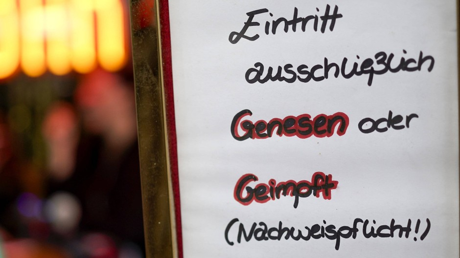 Ausblick: Die 2G-Regel gilt laut Bouffier bald auch in Hessen