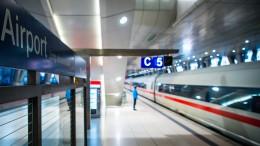 Frankfurter Flughafen profitiert von neuen schnellen Zügen