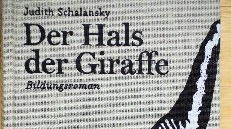 """Gehört zu den Siegern des Wettbewerbs """"Schönste deutsche Bücher"""": """"Der Hals der Giraffe"""" von Judith Schalansky."""
