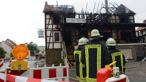 Mindestens zwei Tote bei Brand in Pizzeria