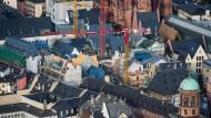 Blick auf das Dom-Römer-Quartier im Juni diesen Jahres.