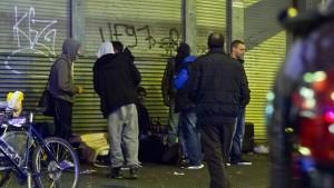 Aggression in Frankfurter Crack-Szene nimmt zu