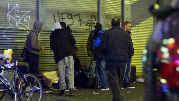 Stadt will Crack-Konsumenten nachts besser betreuen