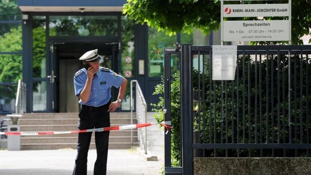 Tödliche Schüsse in Frankfurter Jobcenter