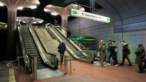 Stromausfall an neun Bahnhöfen in Frankfurt