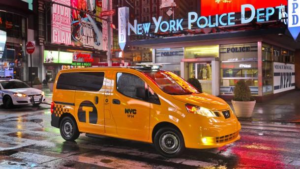 Ein Tag Taxifahrer in New York