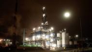 Chemiewerk by Night: Grillo-Anlage in Höchst
