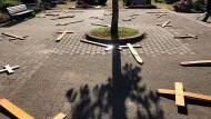 Ermittlungen laufen nach Randale auf Friedhof