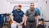 Straßen-Rapper: Celo und Abdi wollen hoch hinaus mit ihrer Musik.