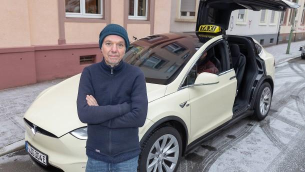 Ein Pionier in der Taxischlange