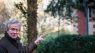 Auf Familienspuren im Grüneburgpark:  Jean-Paul Froidevaux, Enkel von Albert von Goldschmidt-Rothschild