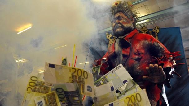 Der Mainzer Carneval-Verein 1838 präsentiert vorab seine etwa 15 Motivwagen für den Rosenmontagszug
