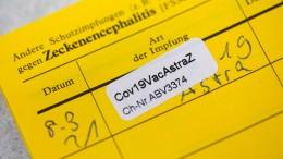 Gefälschte Impfausweise in Umlauf
