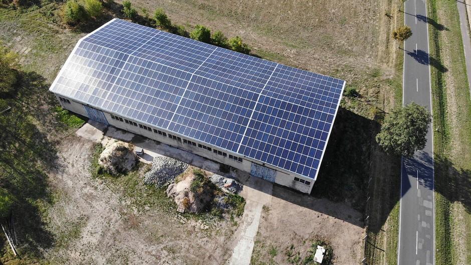 Strahlkraft: Über Ecozins können Anleger in eine Solaranlage in Tangerland investieren
