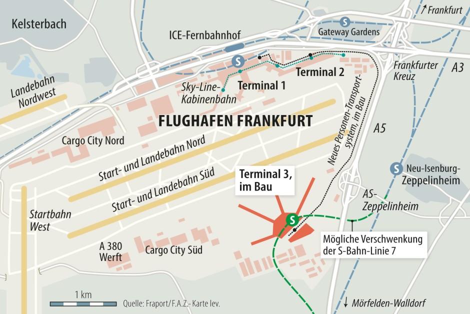 Flughafen Frankfurt Anfahrt Terminal 2