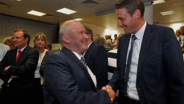 CDU-Mann in Bad Homburg klar vor Amtsinhaber