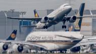 Beflügelt: Der Frankfurter Flughafen hat 2015 Rekorde erzielt.