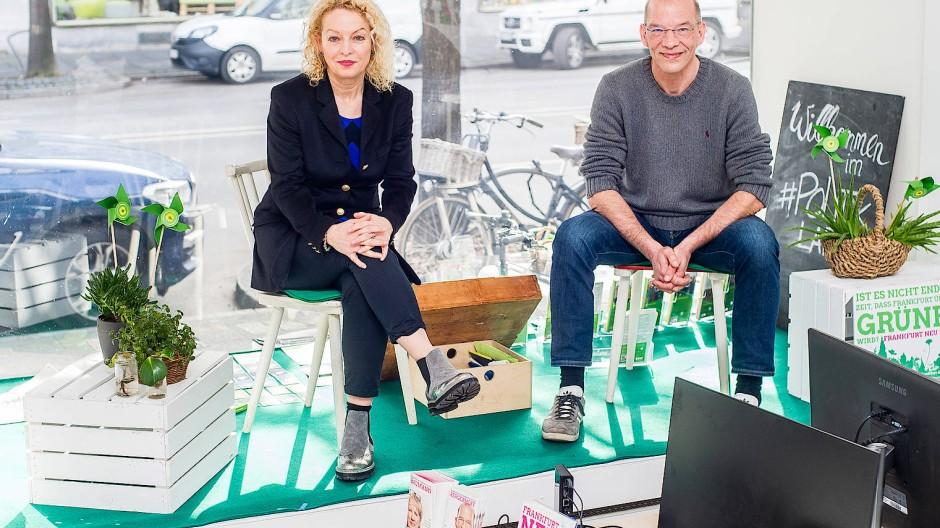 Können sich die Gesprächspartner aussuchen: An den Grünen mit den Spitzenkandidaten Martina Feldmayer und Bastian Bergerhoff führt bei der Koalitionsbildung kein Weg vorbei.