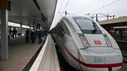 In 29 Minuten mit dem ICE von Frankfurt nach Mannheim