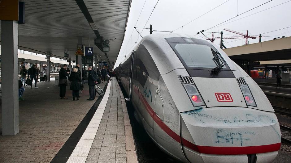 Flotter in die Zukunft: Die Bahn will den ICE zwischen Frankfurt und Mannheim beschleunigen
