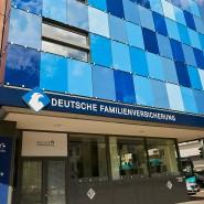 Aufsteiger: Sitz der Deutschen Familienversicherung in Frankfurt
