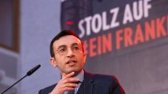 Rasante Karriere: Vom Sprecher der Jungsozialisten wurde er innerhalb von acht Jahren zum Planungsdezernent in Frankfurt.
