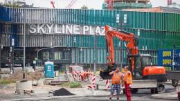 Spatenstich für Verlängerung von U-Bahn-Linie gesetzt
