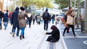 Wie Frankfurt gegen den Betteltourismus vorgeht