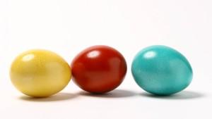 Eier suchen oder zerdrücken