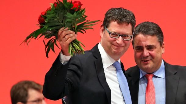 Schäfer-Gümbel neuer Vizevorsitzender der Bundes-SPD