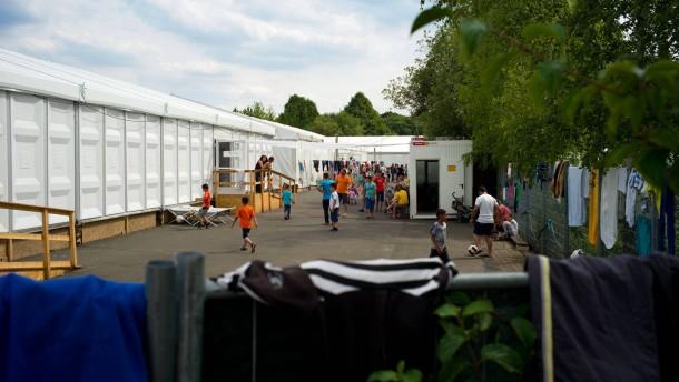 Wirbel um Unterkunft in THW-Halle