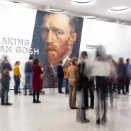 Viele wollen dem Meister nah sein: Besucher der Van-Gogh-Schau im Städel
